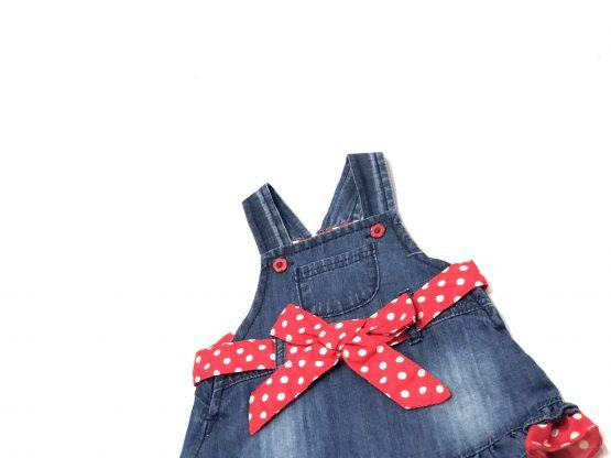 Baby Romper Jeans Frock