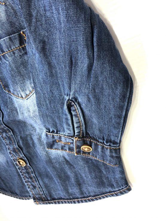 Boy Jeans Shirt Full Sleeve