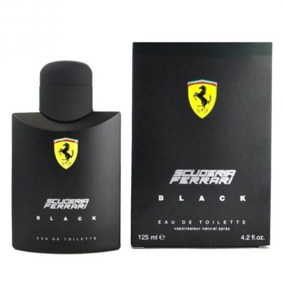 Scuderia Ferrari Black Natural Spray 125ML