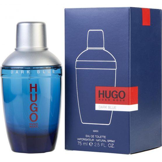 Hugo Boss dark blue perfume Cologne Original spray 75ml