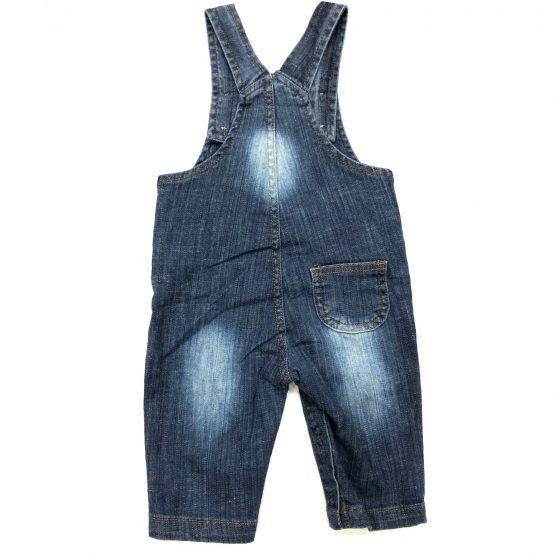 Boys Jeans Romper Rough Style