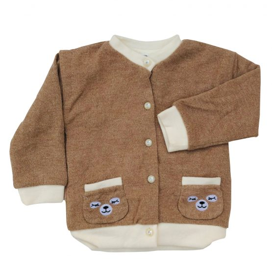 Baby Bear Sweater Wool Coat
