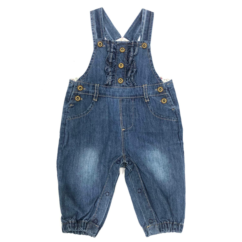 Baby Jeans Girl Romper Dress