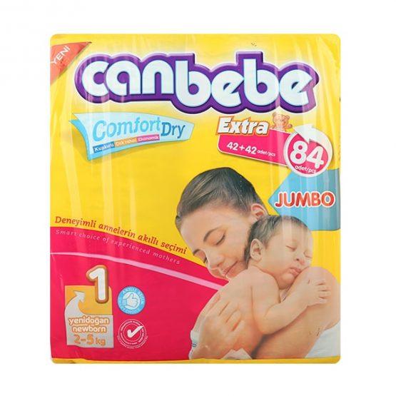 Canbebe New Born 1 Pamper 84 Pcs