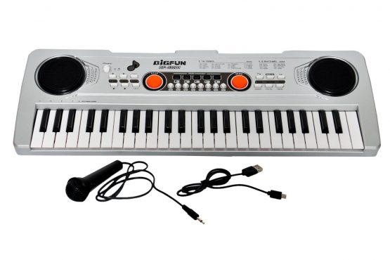Big Fun Electronic Piano Keyboard Include Micro Phone,USB