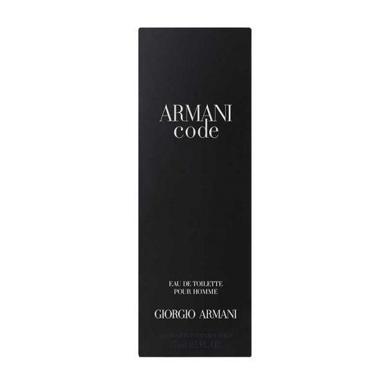 Armani Code Perfume Spray For Men 75 ML