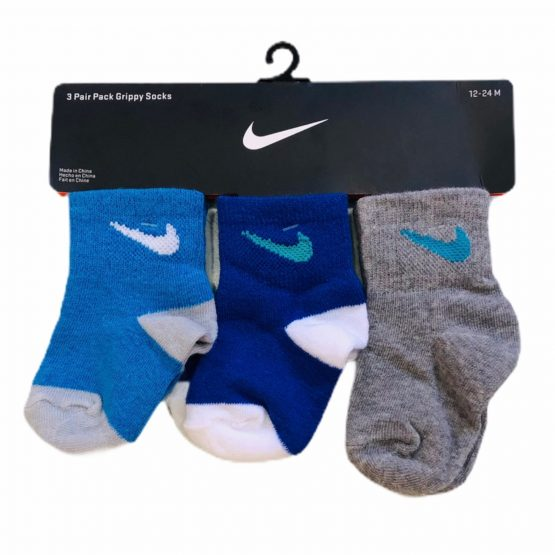 Baby Branded NK Socks with new Design 3 Pieces Pack