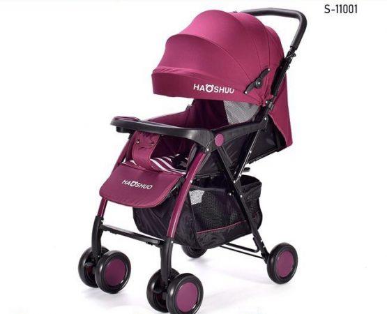Baby Best Light Weight Purple Stroller Push Chair