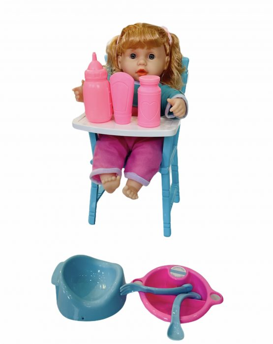 Abbyeva Little Loves Dining Table And Chair Play Set